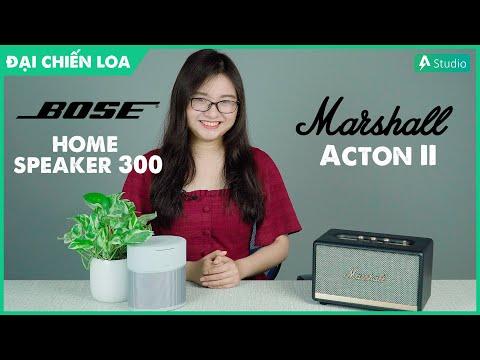 [Đại chiến loa] Bose Home Speaker 300 vs Marshall Acton 2| Loa nào hơn ???