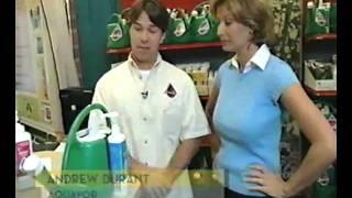 HGTV interview AquaVor Easy Feeding Can.