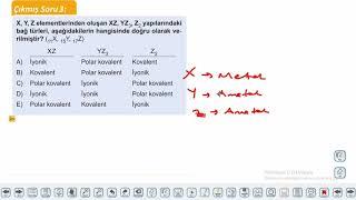 Eğitim Vadisi 9.Sınıf Kimya 13.Föy Kimyasal Türler Arası Etkiletişimler Konu Anlatım Videoları