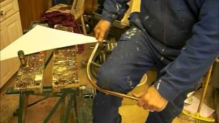 Bending a copper pipe - expert advice