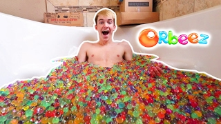 BATHTUB FULL OF 100,000 ORBEEZ FANMAIL OPENING!