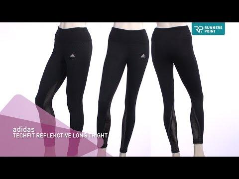adidas TECHFIT REFLECTIVE LONG TIGHT