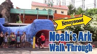 2016 Kennywood Noah's Ark Walk Through  (Completely Updated)