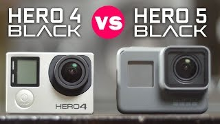 GoPro Hero 5 Black vs Hero 4 Black