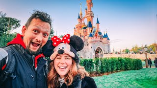 Would you fly to Disneyland for ONE DAY?!