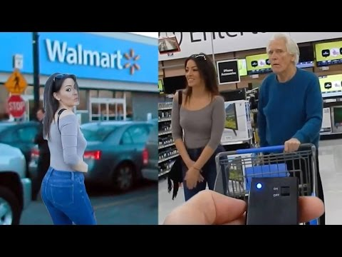 Vibrating Panties Prank On Girlfriend!PART 2 INSIDE WALMART!
