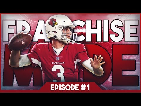 Madden 19 - Arizona Cardinals Draft To Glory Franchise Mode #1 \