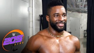Cedric Alexander reacts to his WWE 205 Live return: WWE 205 Live exclusive, May 23, 2017