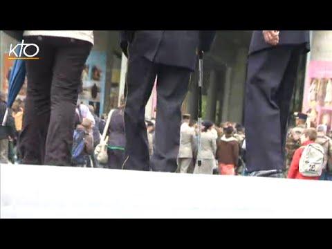 Pèlerinage Militaire International à Lourdes, les blessés de guerre témoignent
