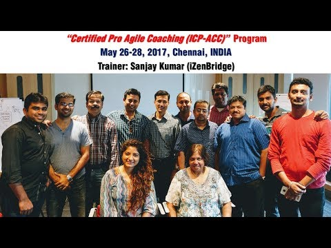 Moments from ICP-ACC training in Chennai (May 26-28 ... - YouTube
