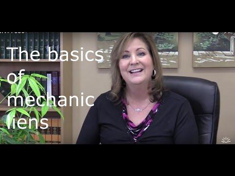 Mechanic lien basics for the homeowner