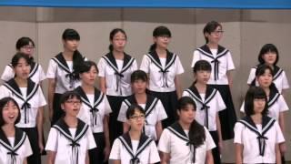名古屋市立一柳中学校アポリネールの詩による四つの無伴奏小品集「白鳥」から2.贈物作詞:G・アポリネール訳詞:堀口大學作曲:高嶋みどり