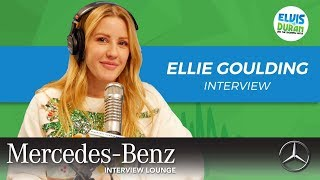 "Ellie Goulding on ""Close To Me"", and Why She Doesn't Sing About Her Fiance 
