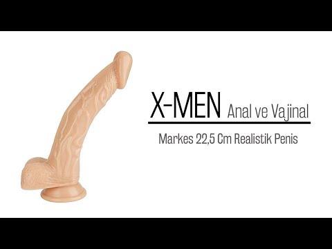 Markes 22,5 Cm Anal ve Vajinal Kullabilen Realistik Penis