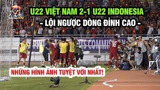 Những hình ảnh hay nhất: U22 Việt Nam 2-1 U22 Indonesia, lội ngược dòng đẳng cấp