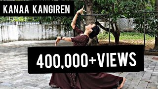 Kanaa Kaangiren | Dance cover | Rddhima | Tamil song