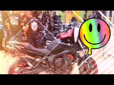 Encontro de motociclistas em Brasília de Minas