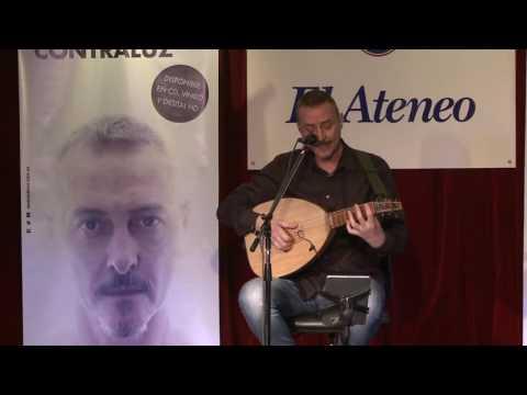 Pedro Aznar video Madrigal - Presentación Contraluz 2016
