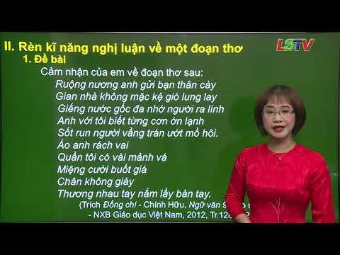 Ngữ Văn 9-Ôn tập bài Đồng Chí-Chính Hữu- GV- Lê Kim Ngân- THCS Hoàng Văn Thụ- tp Lạng Sơn