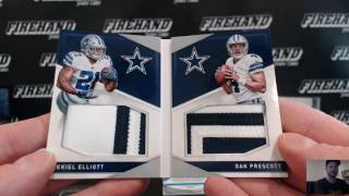 Insane! 2016 Preferred Football 10 Box Case Break PYT #2 ~ 1/17/17