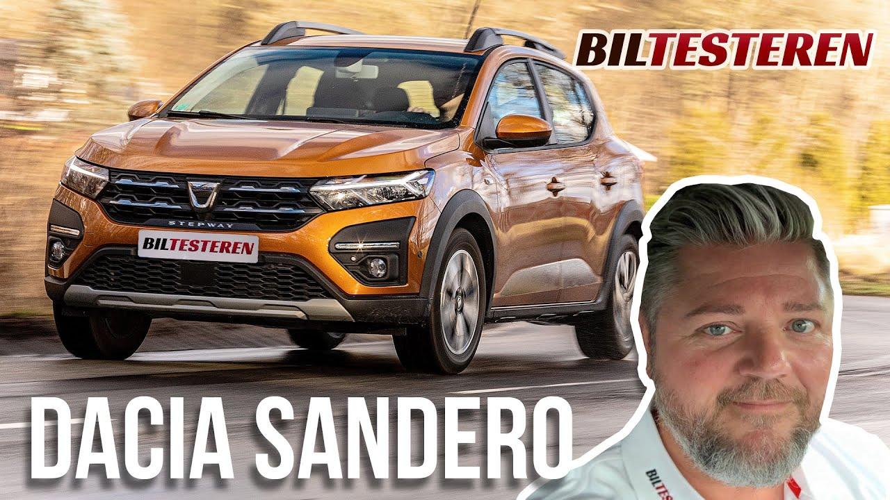 Dacia Sandero bilanmeldelse biltesteren