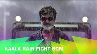 Kaala   Rain Fight BGM | Rajinikanth | Santhosh Narayanan