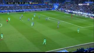 Alavés vs FC Barcelona (0-6) All Goals & Highlights HD 12/2/2017
