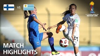 Finland v Uruguay  - FIFA U-17 Women's World Cup 2018™ - Group A
