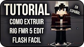 Turorial - Extruir rig FMR 5 flash Edit + Rig Gratis| Cinema 4D