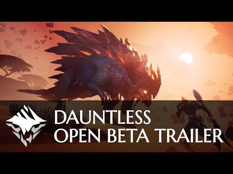 Dauntless - Open Beta Trailer thumbnail
