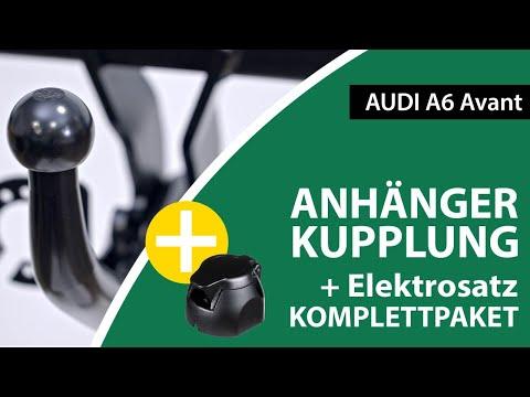Anhängerkupplung starr AUDI A6 Avant    Westfalia Komplettsatz + Montage von Rameder