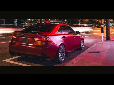 3M™ Wrap Film Series 1080 - Satin Vampire Red - Teaser
