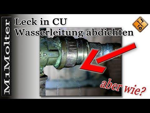Leck in Wasserleitung abdichten von M1Molter