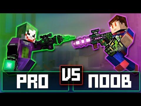 PRO VS NOOB - Pixel Gun 3D : Versus Battle