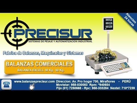 Balanzas electronicas Excell SBLP de 30kg - Balanzas Precisur