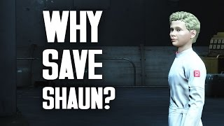 Why Save Shaun? A Moral Study in Fallout 4