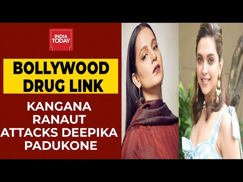 Kangana Ranaut Attacks Deepika Padukone Over Alleged Drug Link | Breaking News #India Today