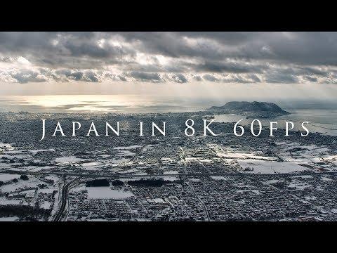 Japan in 8K 60fps