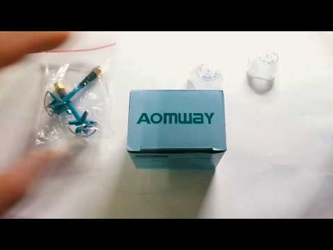 Aomway RHCP 3dBi Short Antenna - Unboxing and SWR Test