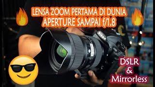 Lensa Sigma 18-35mm f/1.8 DC HSM Art - Lensa Zoom Pertama Aperture f/1.8 | Review 2019