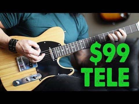 The $99 Telecaster! – Demo / Review