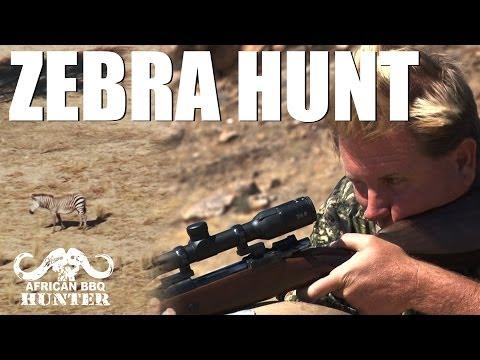 African BBQ Hunter – mountain zebra hunter