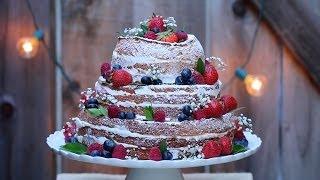 """Naked"" Wedding Cake - Gemma's Bigger Bolder Baking Ep. 15 - Gemma Stafford Recipe"