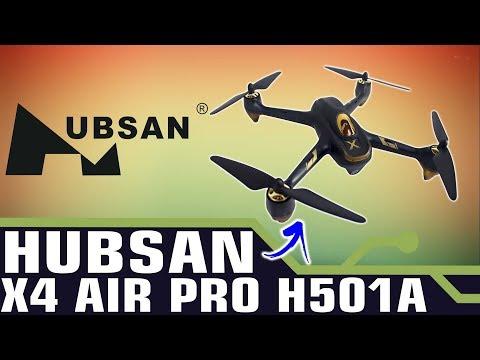 DRONE HUBSAN X4 AIR PRO H501A - | DESEMPACOTAMENTO - BANGGOOD.COM
