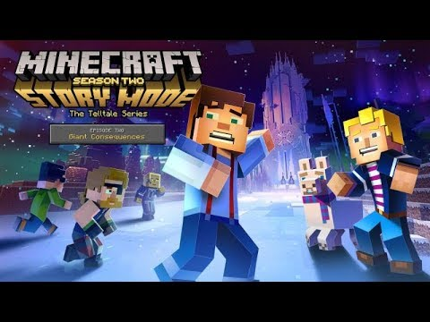 MINECRAFT Story Mode Episode 2: Giant Consequences (SEASON 2) | All Cutscenes Game Movie