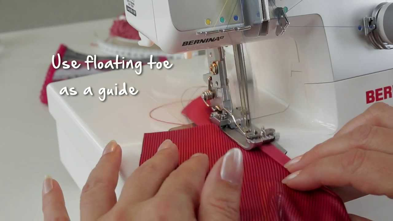 BERNINA overlocker/serger L 220: tips and tricks, fine-tuning