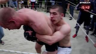 СТАРЫЙ БОКСЕР против Молодого Борца !! Лучший Бой !!