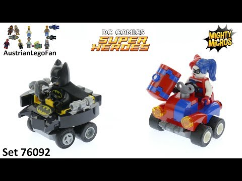 Vidéo LEGO DC Comics 76092 : Mighty Micros : Batman contre Harley Quinn