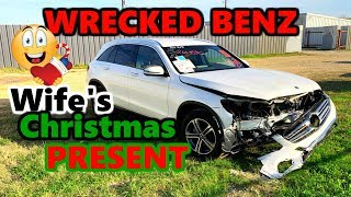 I Bought My Wife A New 2019 Mercedes Benz But Its Wrecked So Lets Rebuild IT