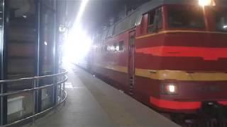 Явления ЧС2Т-963 на Ладожском вокзале